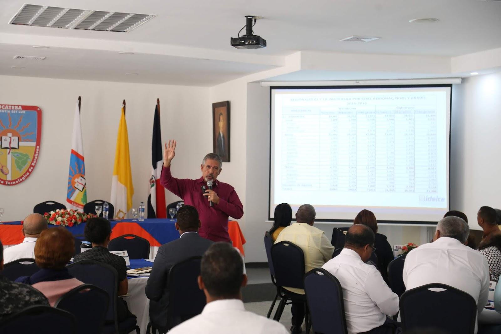"""UCATEBA e IDEICE implementan mesa de diálogo """"Gestión y Deserción Escolar en los Centros Educativos"""""""