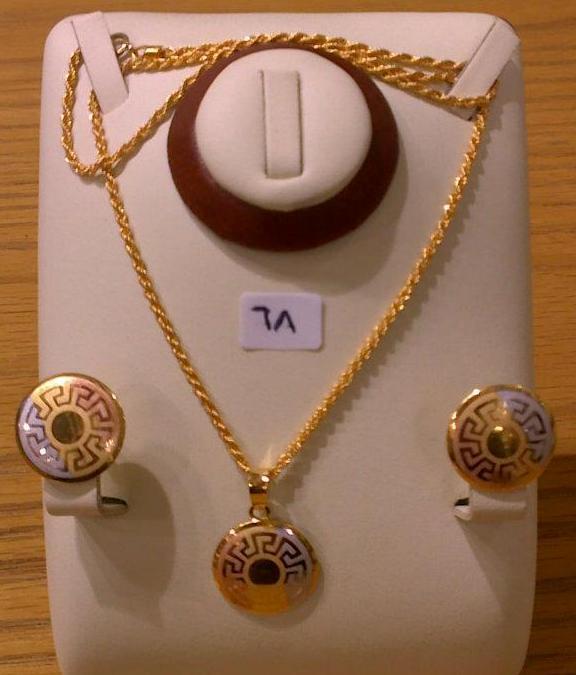 Gold Earrings Price In Saudi Arabia Simaya Fashion Earring Fe 1142 Gold Tone Trendearrings