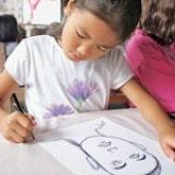 Pastel Portraits - Step 1