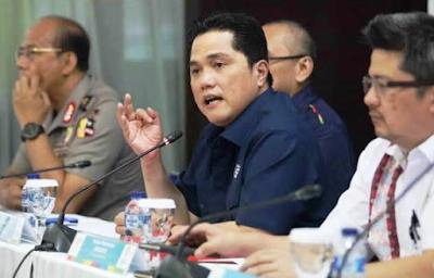 Gebrakan Erick Thohir sebulan menjabat mentri BUMN Rini Soemarno ngapain aja.?