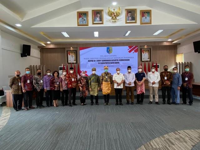 Tingkatkan Kesejahteraan Petani, Wamendag Dorong Batu Bara  Implementasikan  SRG