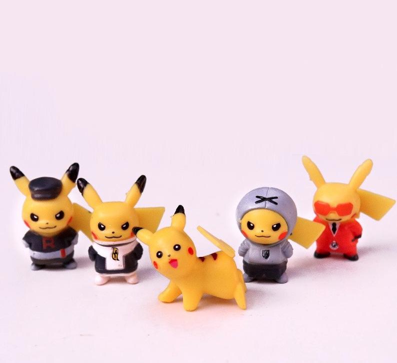 Set Mô Hình Pikachu 10 Con Tí Hon
