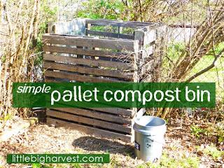 http://www.littlebigharvest.com/2013/11/simple-pallet-compost-bin.html