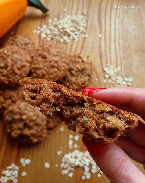 Owsiane ciasteczka z cukinią przepis