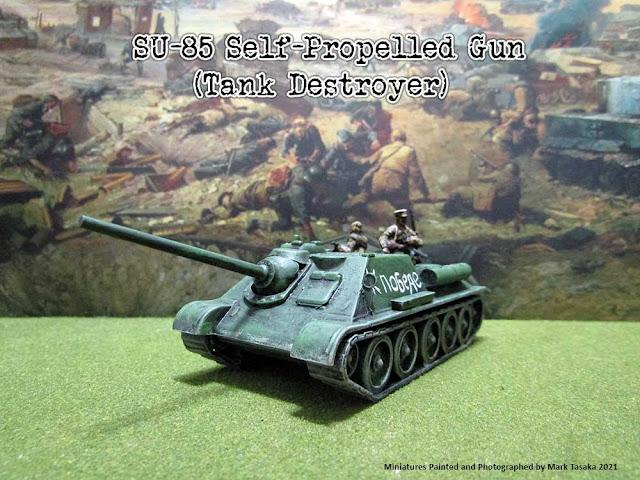 Armourfast SU-85 Self-Propelled Gun