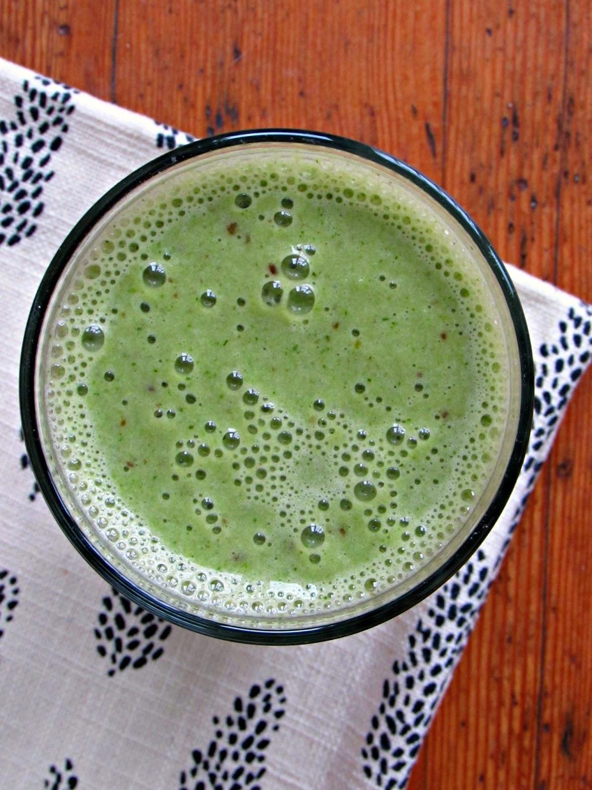 Mint Breakfast Milkshake | Chicago Jogger