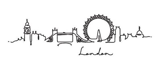 Tatuaje skyline Londres