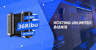 Web Hosting Unlimited Murah Pertahun