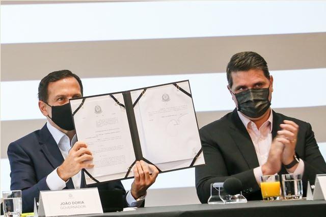 O Governador do Estado de São Paulo, João Doria, sancionou virtualmente a Lei que institui ICMS Ambiental