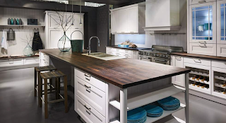 Nobilia shaker style transitional kitchen