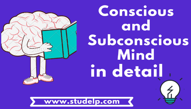 Conscious and Subconscious mind - Power of  the Subconscious mind
