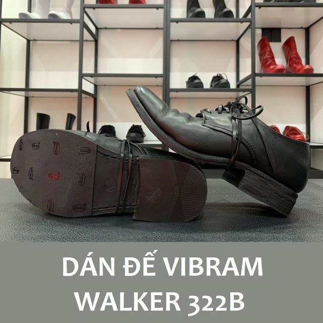 Walker 322B được dán đế Vibram soles Protector