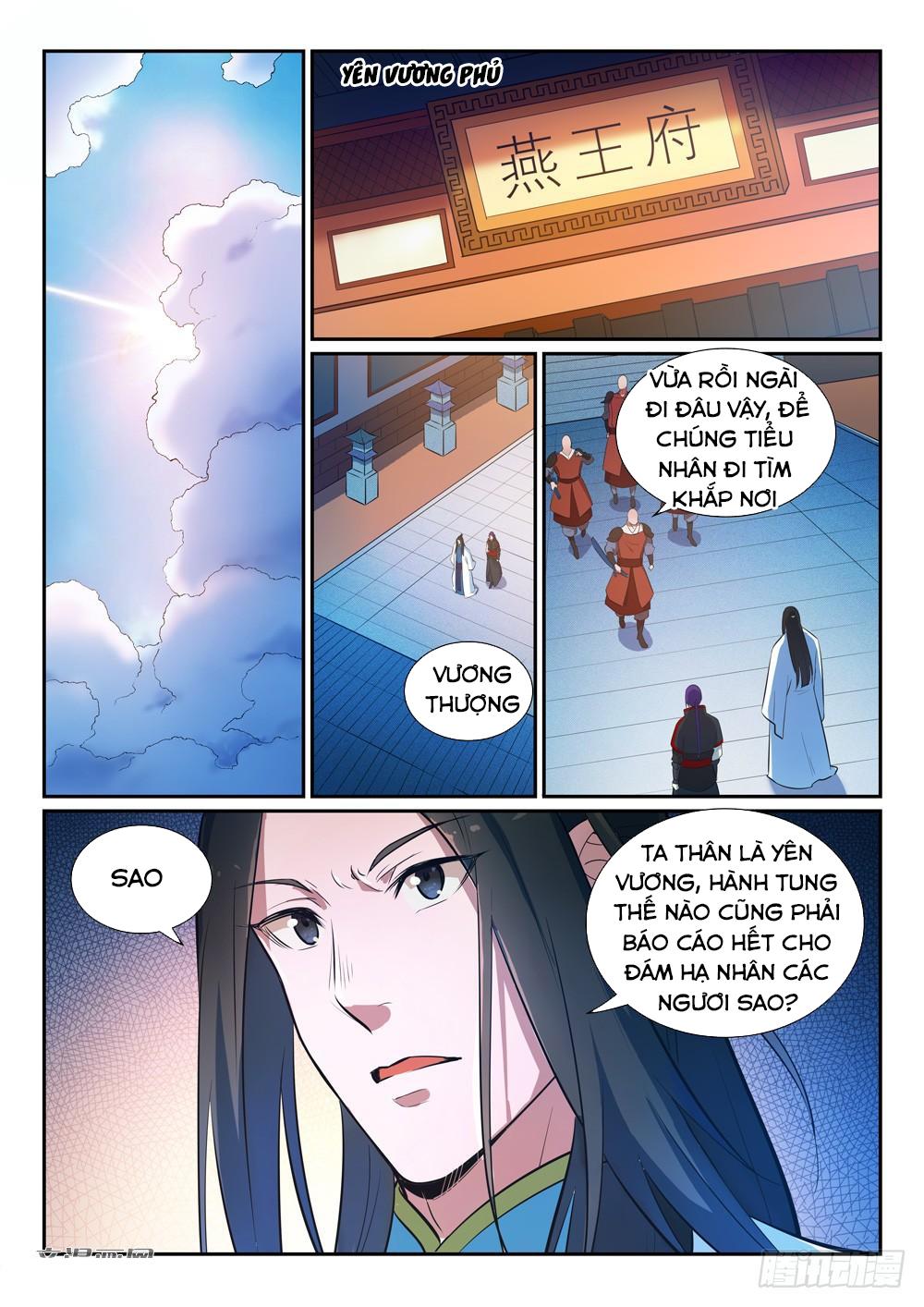 Bách Luyện Thành Thần Chap 371 Upload bởi Truyentranhmoi.net