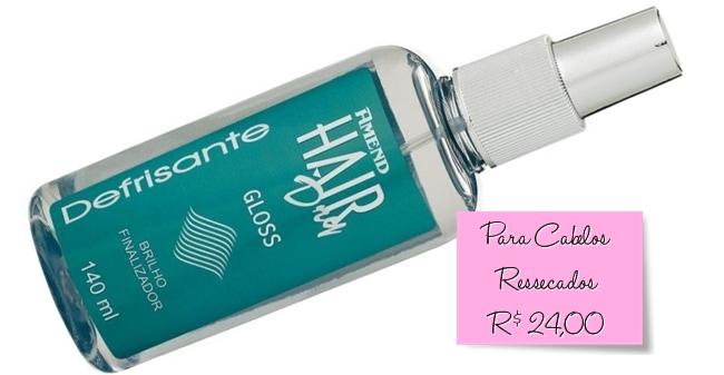 Gloss Brilho Finalizador Amend Hair Dry