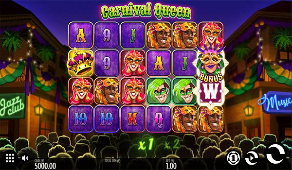 Main Gratis Slot Indonesia - Carnival Queen (Thunderkick)