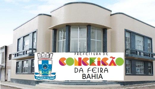 Concurso Público Prefeitura de Conceição da Feira:  edital oferece mais de 120 vagas