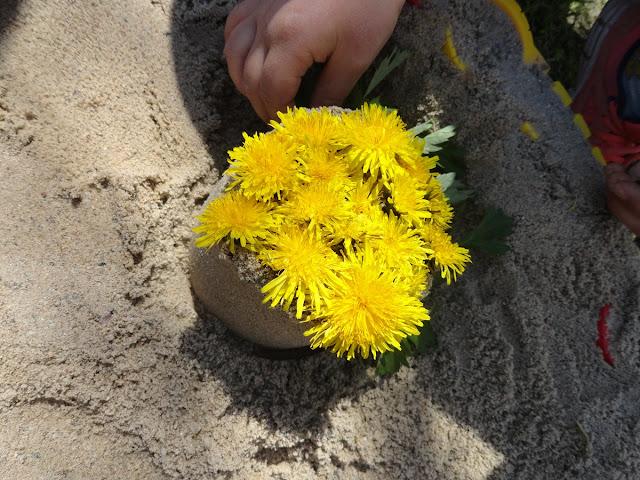 wiosna - wiosenny spacer z dzieckiem