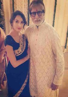 Nora Fatehi With Amitabh Bachchan