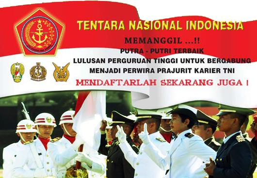Persyaratan Rekrutmen Pns 2013 Lowongan Kpk Komisi Pemberantasan Korupsi 2017 Penerimaan Perwira Prajurit Karir Pk Tni 2013 Dunia Info Dan Tips
