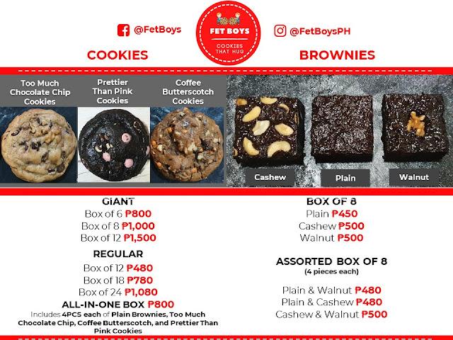 Too Much Chocolate Chip Cookie by the Fet Boys, Fet Boys, Ruby Chocolate Cookies, Coffee Butterscotch Cookies, Best Cookies PH, Brownies, Food,
