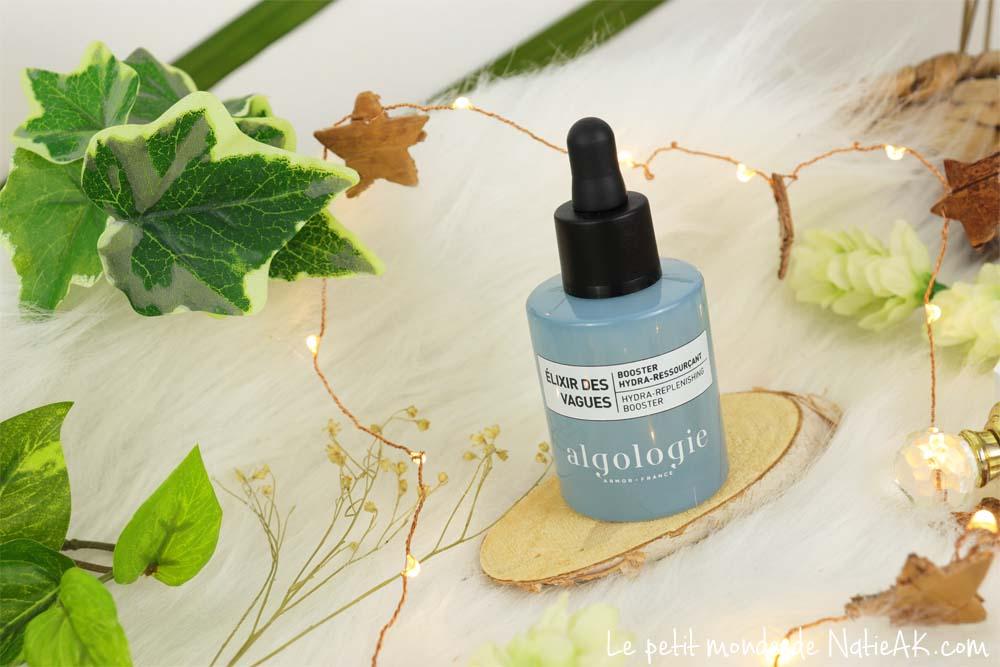 produits cosmétiques à base d'algues marines