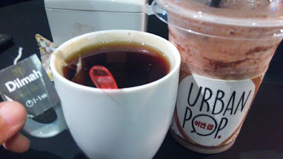 urban pop cafe, urban pop malang, kuliner malang, dilmah tea