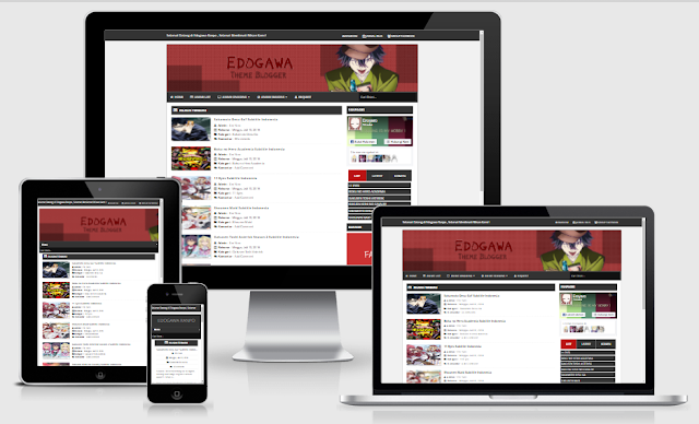 EDOGAWA BLOGGER TEMPLATES