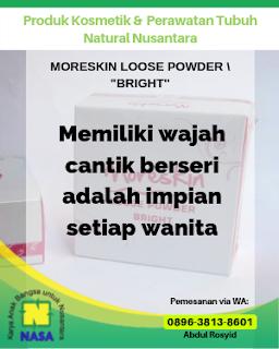 Moreskin Loose Powder Bright / Bedak Tabur