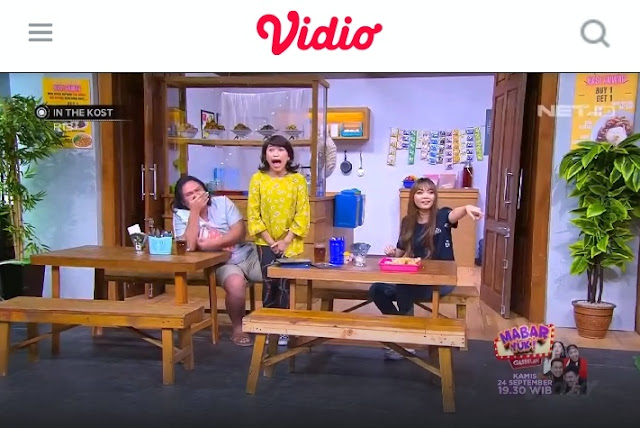 Streaming Siaran NET TV lewat aplikasi Vidio