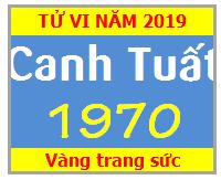 Tử Vi Tuổi Canh Tuất 1970 Năm 2019 Nam Mạng -Nữ Mạng