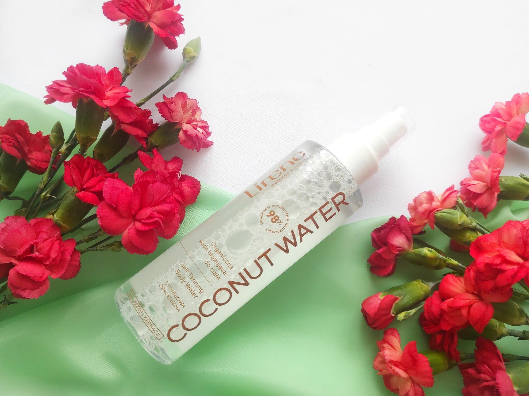 Woda brazująca Lirene coconut