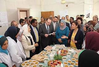 منظمة الفاو زراعة أسطح المباني والمصالح الحكومية ومشروعات صغيرة للفتيات وربات البيوت ببنى سويف.