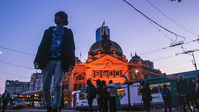 Ray Tan 陳學沿 (raytansy) ; Flinders Street Railway Station @ Melbourne City (CBD), Victoria, Australia 墨尔本弗林德斯大街车站 澳洲澳大利亞 維多利亞州