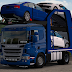 Scania P R G Streamline Car Transport + Ownable Trailer