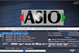 mengenal asio4all software anti delay terbaik