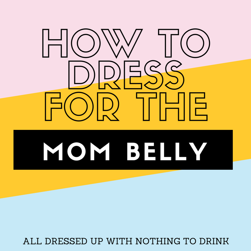 How to Dress for the Mom Belly