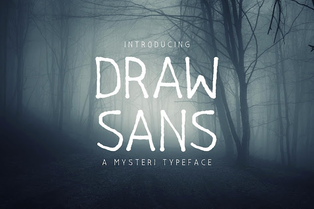 Drawsans Typeface Download Font Free