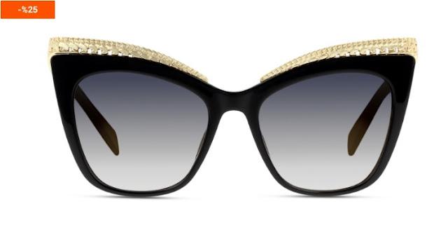 kedi gözü gözlük, gözlük, kadın gözlüğü, moschino