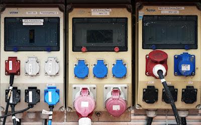 contatore-impianto elettrico-cantiere