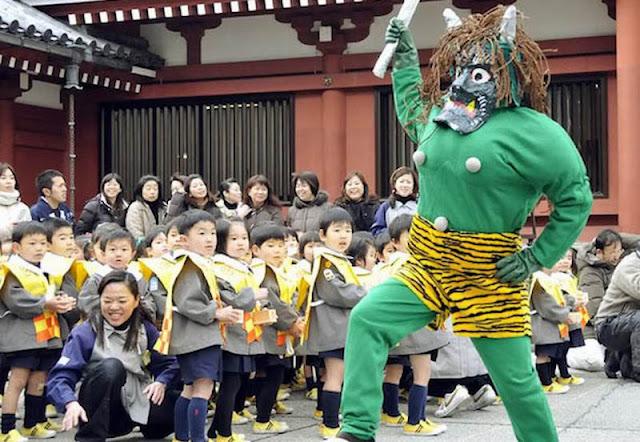 Setsubun Festival Perayaan Tahunan di Jepang