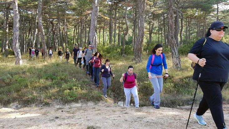 Με απόλυτη επιτυχία η πρώτη πεζοπορία στο Δάσος της Δαδιάς από τον σύλλογο Δρομέας Θράκης