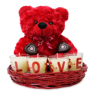 Heart-shaped love basket