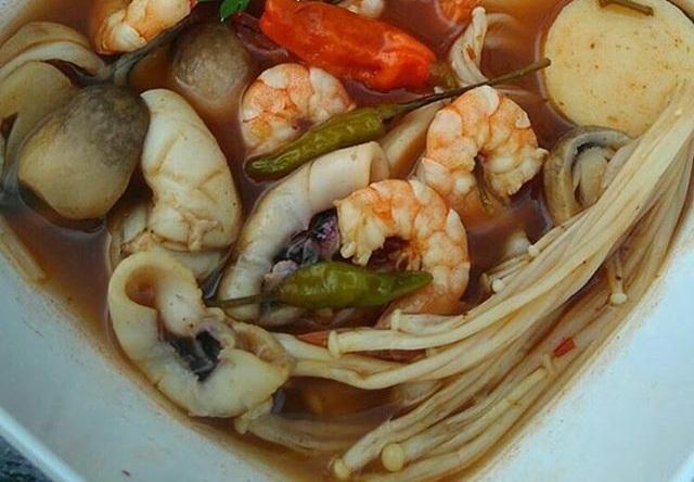 masakan tomyam, masakan thailan, masakan unik
