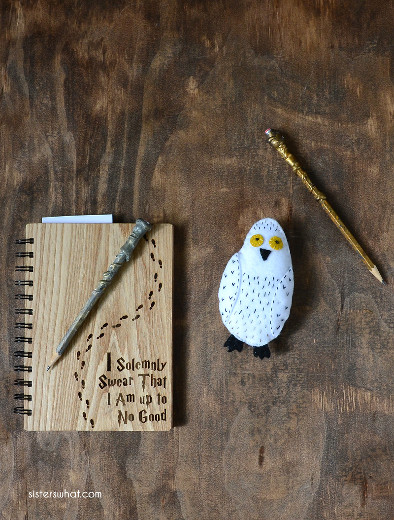 DIY hedwig little stuffed animal