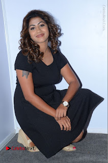 Tollywood Actress Geethanjali Thasya Latest Pos in Black Short Dress at Nanna Nenu Na Boyfriends Audio Launch  0040.JPG