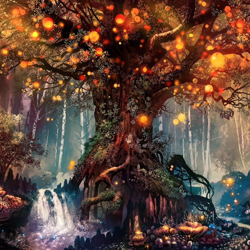 Fantasy Forest Wallpaper Engine Free Download Wallpaper