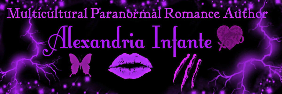 Multicultural Paranormal Romance Author Alexandria Infante