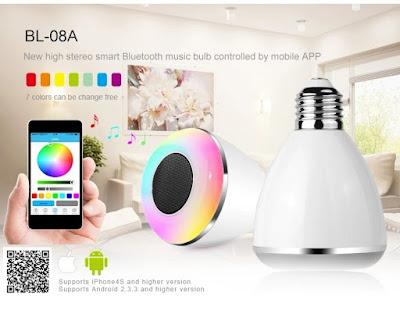 Focos inteligentes iluminación LED