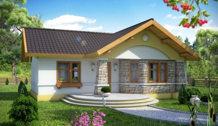 2 Room Small House With Beautiful Cladding Design Bahay Ofw