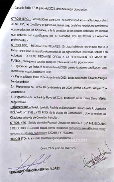 El Santo por la vía legal en Bolivia